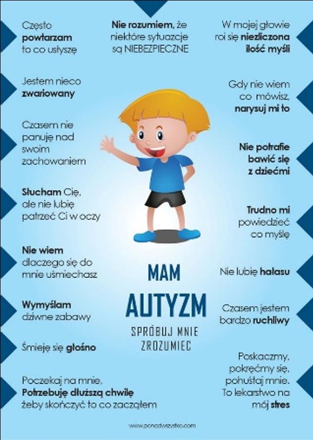 Na Niebiesko dla Autyzmu - Przedszkole Samorządowe nr 1 w Warce
